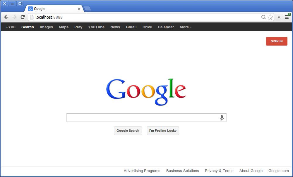 blog host website google server