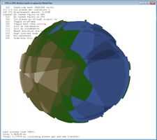 A few faults on the sphere.