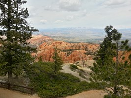 Look across Bryce Canyon.